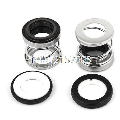 2 Pcs 17mm Innner Dia Ceramic Rotary Ring Water Pump Mechanical Sealing 10pcs 208 17 17mm internal dia metal single spring bellows mechanical shaft seal page 6