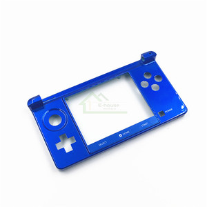 Image 4 - E house oryginalny dolna część bliski rama obudowa Shell pokrywa Case płyta czołowa zamiennik dla konsoli Nintendo dla 3DS konsola do gier