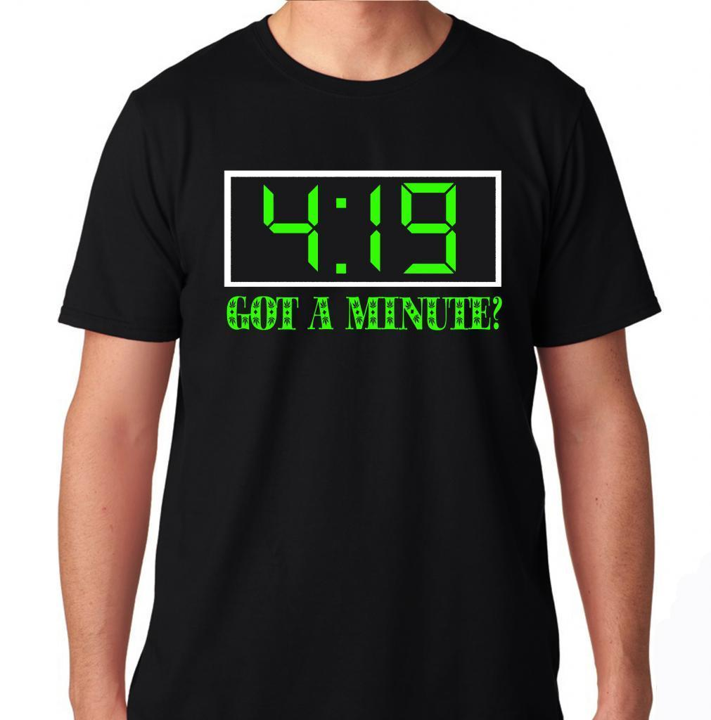 a7e5a286 GOT A MINUTE 420 BLAZE WEED OG INDICA SATIVA HYBRID HIGH LIFE LIL WAYNE T  SHIRT 2019 fashion t shirt, 100% cotton tee shirt-in T-Shirts from Men's  Clothing ...