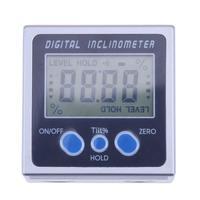 Digital Bevel Box Angle Gauge Meter Mini Digital Protractor 360 Degrees Magnets Base Digital Inclinometer Electronic