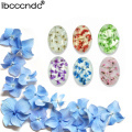 New Arrival Natural Dried Flowers Nail Gel Long Lasting Gel Flower Fairies Series Soak Off UV Gel 6 Colors for Nail Art
