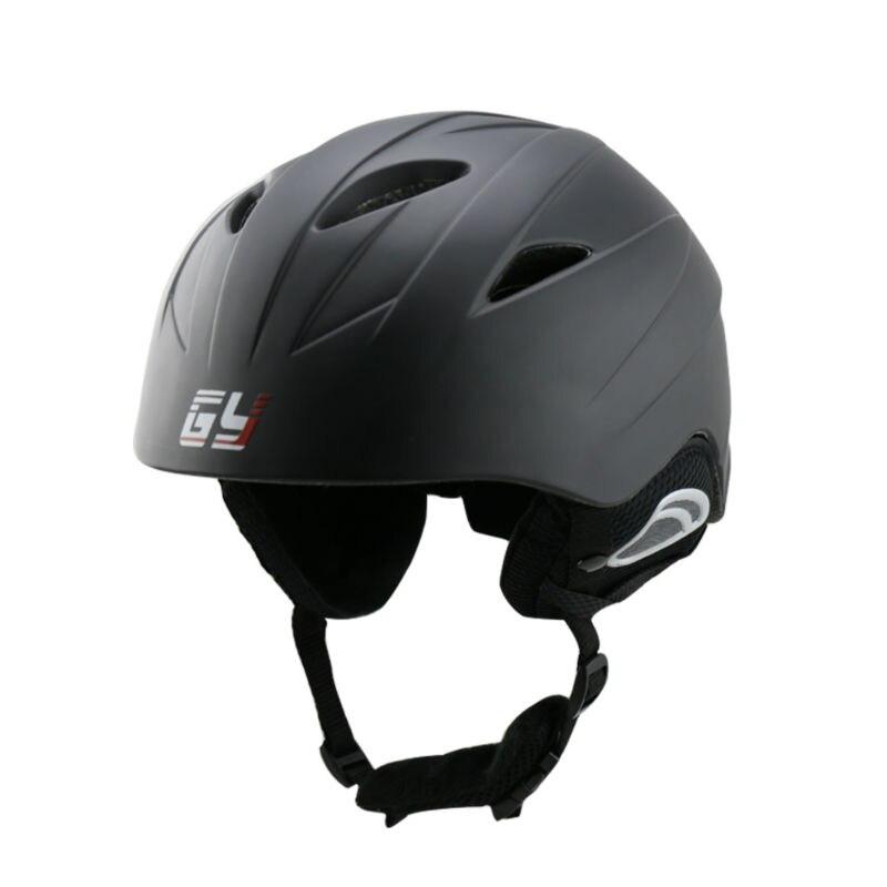 GY SH801 casque de ski pour ski snowboard casque blanc noir velours liner hiver sport utilisé