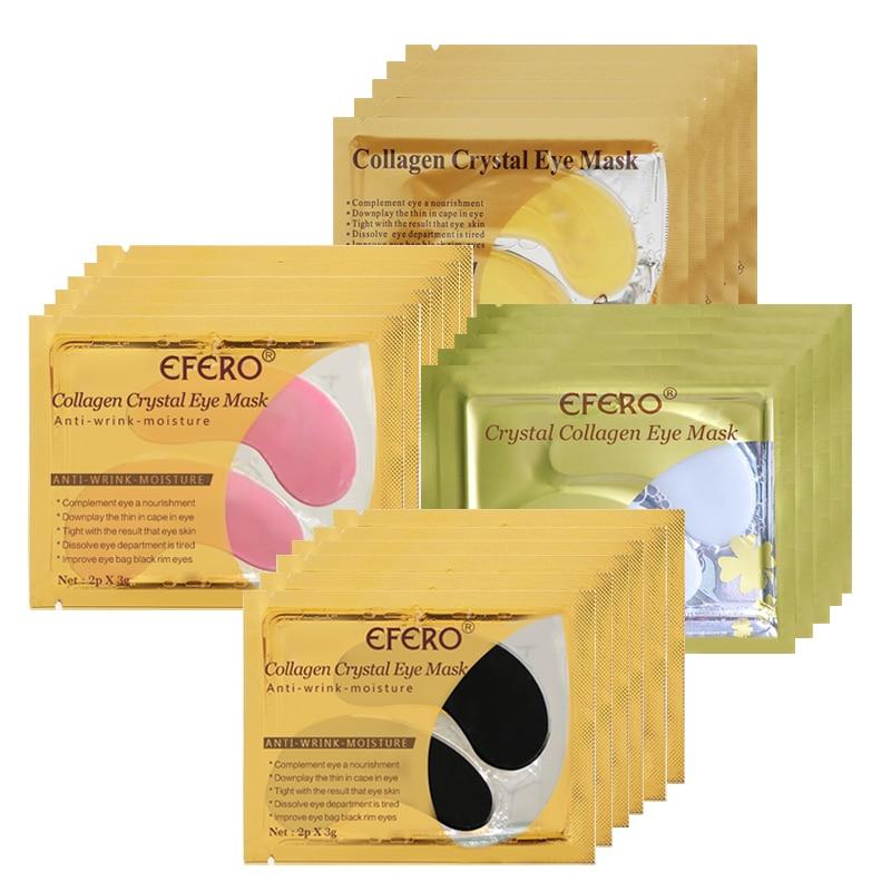 Collagen Eye Mask For Eye Patches Korea Under The Eyes Care Bag Dark Circles Anti-Wrinkle Repair Eye Cream Masks 8pair=16PCS