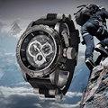 2016 Hombres De Lujo Relojes Deportivos Banda de Silicona de Cuarzo Reloj de Pulsera Reloj Masculino Al Aire Libre Táctico Militar Relojes Relogio masculino