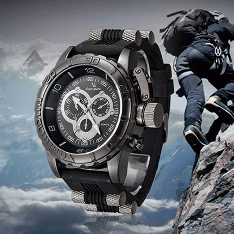 compare prices on tactical mens watch online shopping buy low 2016 luxury men sports watches silicone band quartz wrist watch military outdoor male clock tactical watches