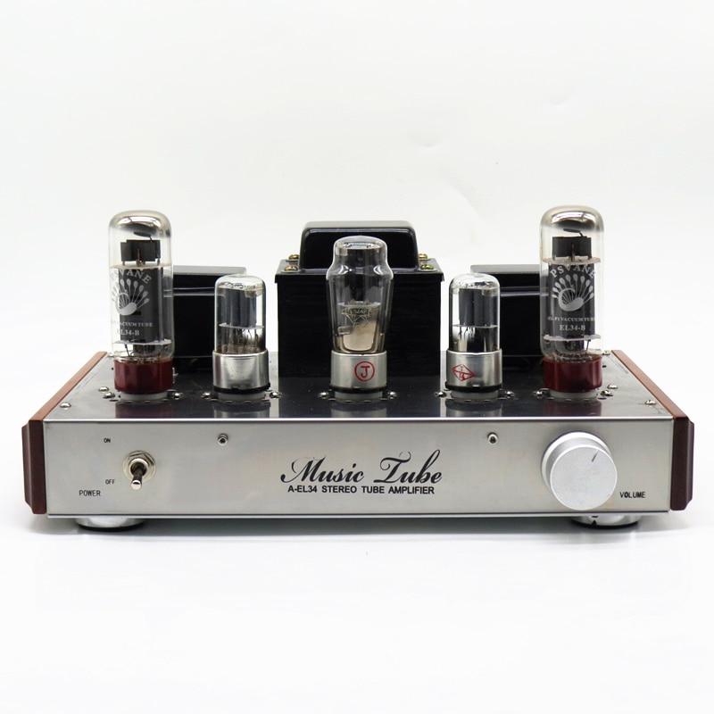 Aiqin Hifi Exquis El34 amplificador valvulado Classe Single ended Um  Amplificador de Andaimes Artesanal Terminou amplificador estéreo tubo de  vácuo em ... c9a21364ce