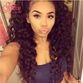 Brazilian Deep Wave With Lace Frontal Closure 13*4 Deep Wave Closure With Bundles 4pc/lot Deep Wave Frontal From Ear To Ear