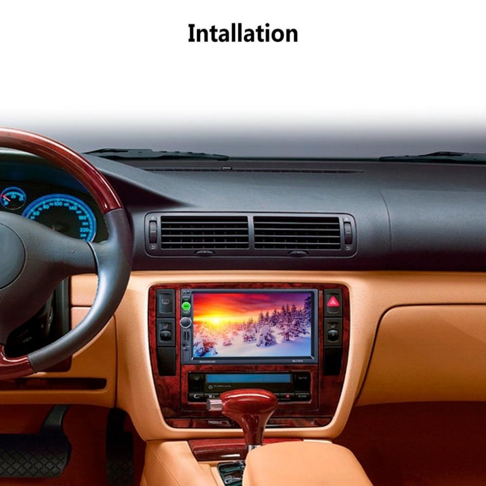 Высокое качество Multi Функция al автомобиля MP5 плеер с 7 HD ЖК дисплей Сенсорный экран с RDS и BT и Зеркало Ссылка и gps Функция RK 7157G