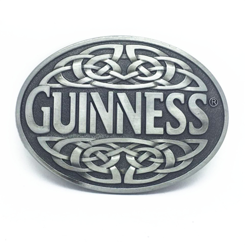 The West Belt Buckles And The GUNNESS Zinc Alloy Belt Buckle Is Suitable For The 3.8CM Belt