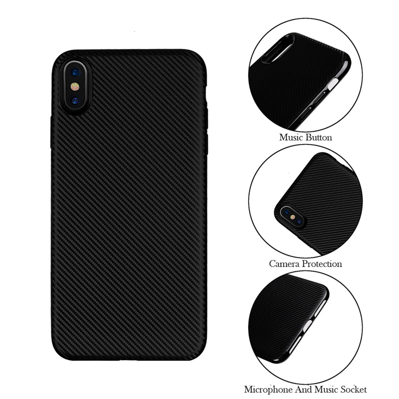 Carbon Fiber Case For Oppo F9 Case Silicone Soft TPU Breathable Radiating Cases For Oppo F9 Pro Cover F9pro 6.3 Inch