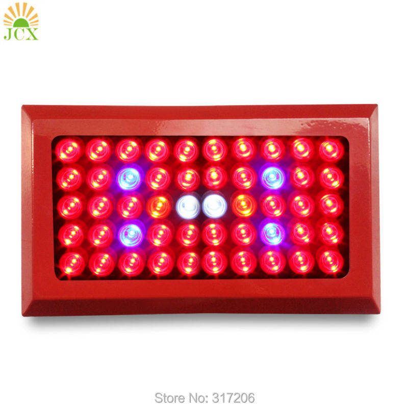 Plant Growing Lamp 150w High Power Led Grow Light 50x3w Greenhouse Lighting For Indoor Hydroponics Plants Growth 300w led grow light 3w chips high power 67red 15blue 8white 8orange 1uv 1ir plant grow lamp for greenhouse garden tent growing