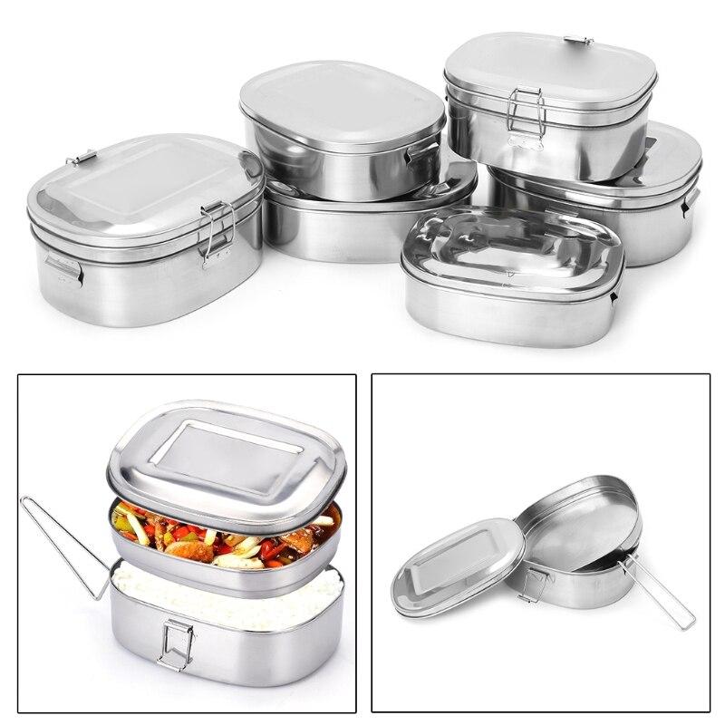 900ml square clip haut pots