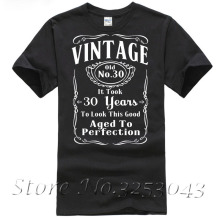 Vintage 30th Birthday T Shirt