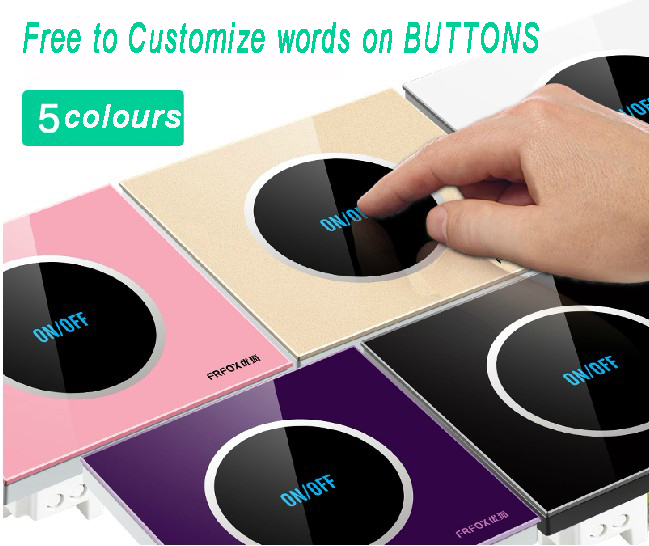 Switch buttons designs for home