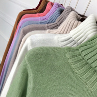 OHRYIYIE 2018 Thick Warm Women Turtleneck Winter Sweater Female Knitted Women Sweaters And Pullovers Jumper Tricot