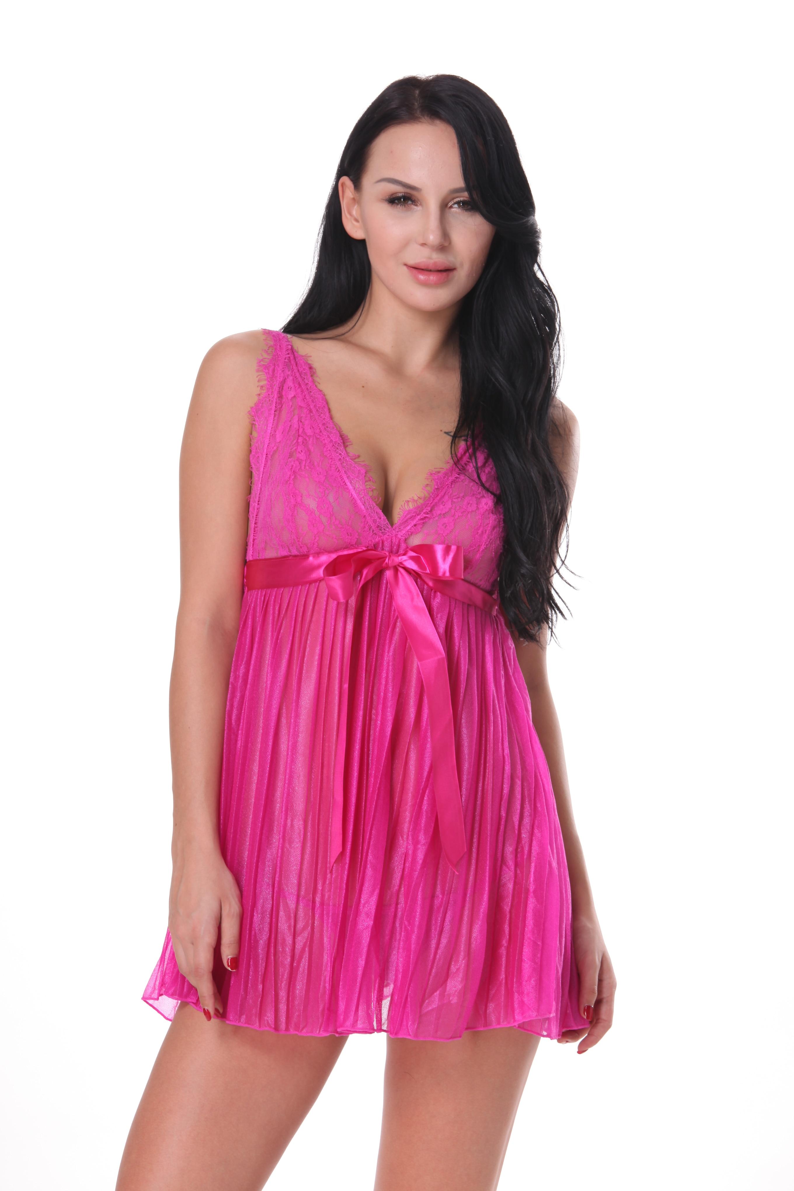Medium Of Purple Lace Dress