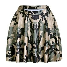 New Hot Camouflage Women Sexy Pleated Skirts Tennis Bowling Bust Shorts Skirts Cool Army Female Fitness Sport Apparel A Style