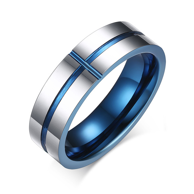 2016 New Design Men Tungsten Ring Quality Steel Vintage