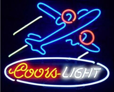 Custom Coors Light skiing Grab A Ski Sport Glass Neon Light Sign Beer Bar