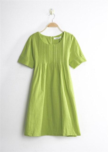 Cotton Linen Maternity Dresses Blouses Shirts Clothing Pregnant Dress Top Clothes For Pregnant Women Plus Size Fashion Summer