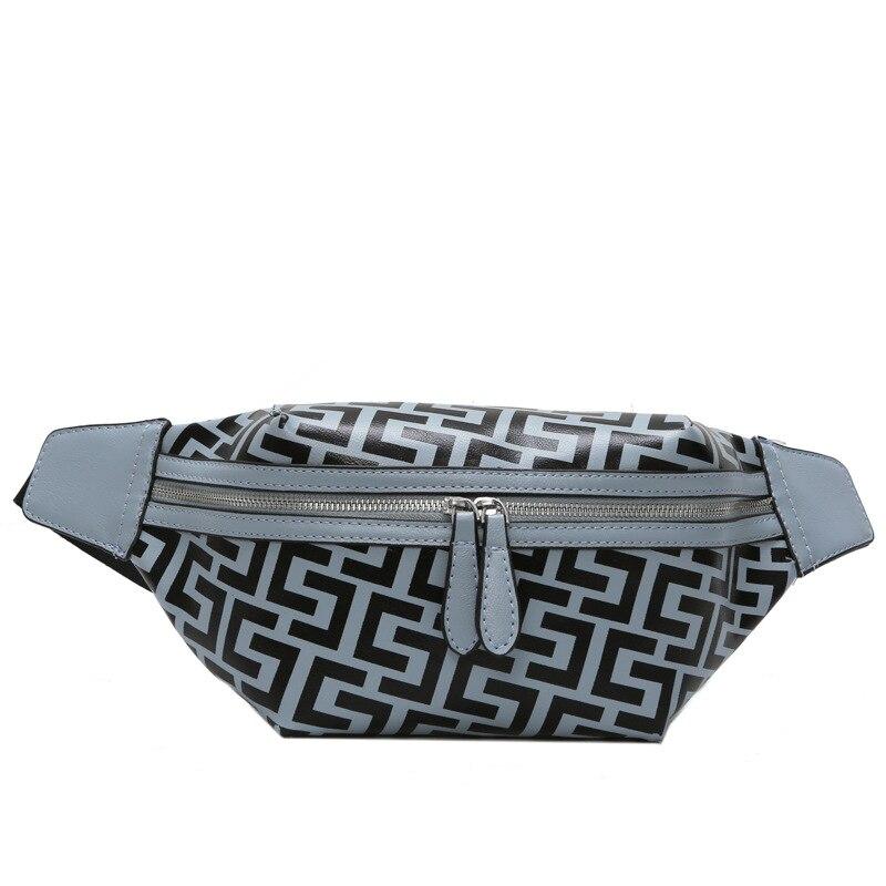 2cb142eda37e Fanny Waist Bag Women Casual Pu Leather Chest Bag Outdoor Sports Oxford  Cloth Zipper Shoulder Bag Travel Beach Belt Bag W2909