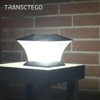 Led Solar Light Post Cap Fence Bright Outdoor Motion Solar Wall Lamp For Garden Villa Decoration Lantern Garden Lights