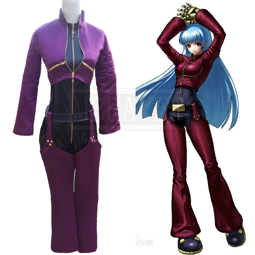 The King Of Fighters Kula Diamond Cosplay Costume Customized Any Size
