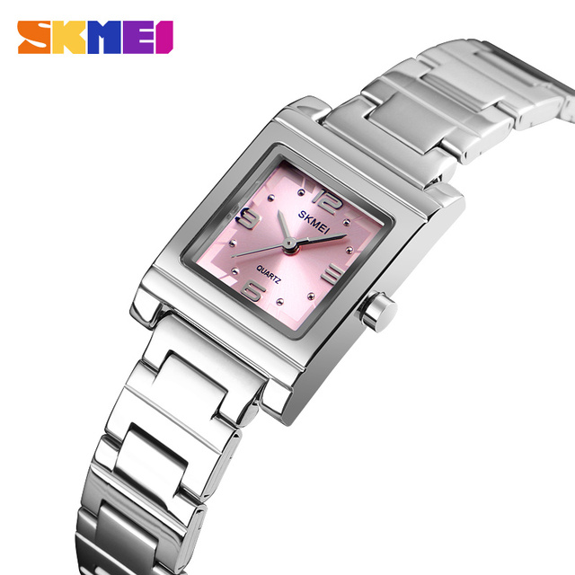 SKMEI New Women Bracelet Watch Top Brand Luxury Female Steel Watches Fashion Cry