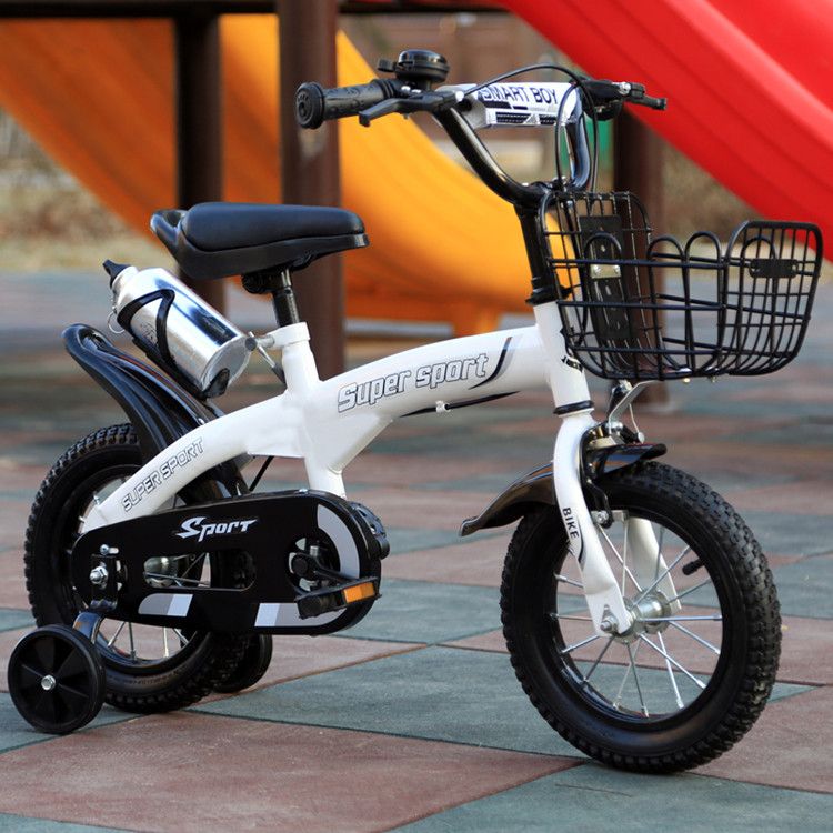 Children s bicycle boy 12 14 16 inch 2 7 years old bicycle stroller boys and Children's bicycle boy 12/14/16 inch 2-7 years old bicycle stroller boys and girls single bicycle