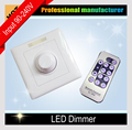 LED Dimmer 220V 110V with IR Remote Control Dimmer Wall mounting for Indoor Home Max. 300W LED Bulb Lights Ceiling lamp