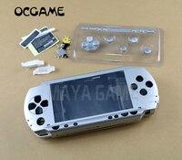 Pełny zestaw obudowa shell pokrywa zamiennik dla psp1000 PSP 1000 konsola do gier OCGAME|Części zamienne i akcesoria|Elektronika użytkowa -