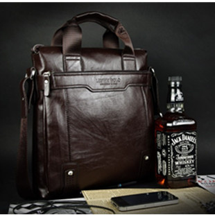 New Arrival Fashion Soft Leather Man Bag Laptop Bags For Men Brown Black Color Totes