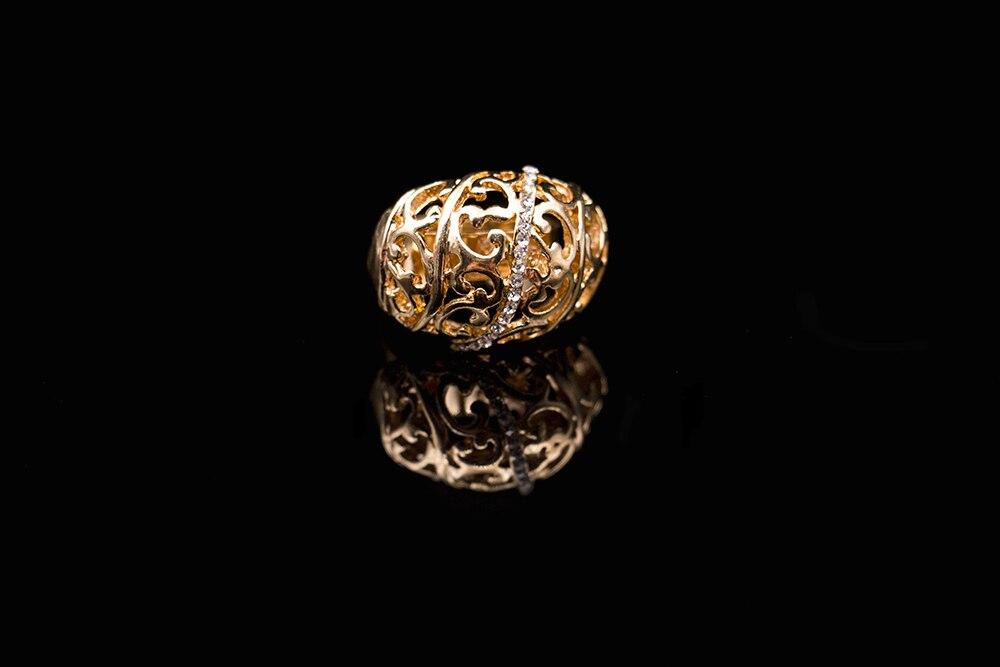 2018 в нигерийском стиле Свадебное колье серьги кольцо и браслет ювелирные цвет золотистый платье аксессуары ювелирные изделия комплект бес...