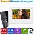 "7"" TFT Video Intercom Monitor Doorbell Rainproof Door Phone IR Camera For CCTV Home Security Video Door Phone System F1377B"