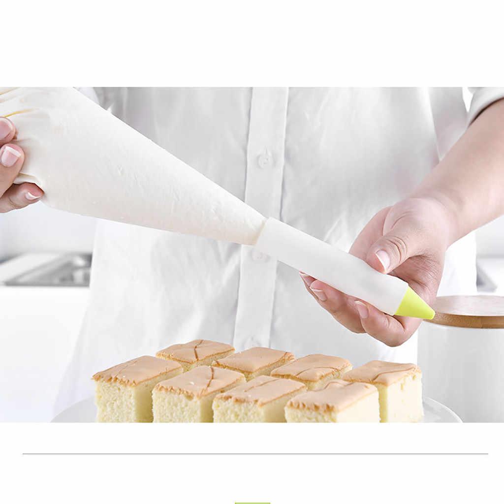 Silikonowe pisanie żywności pióra tort czekoladowy dekorowanie narzędzia kubek do oblodzenie rurociągi drop ship