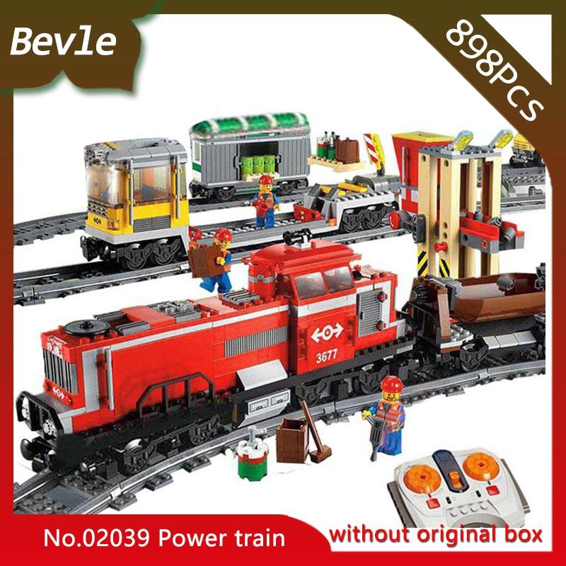 Bevle LEPIN 02039 898Pcs Technic Series Electric Motor powered Train Model Building Bricks Blocks Children For Toys Gift 3677 ролик kraftool 1 02039 25