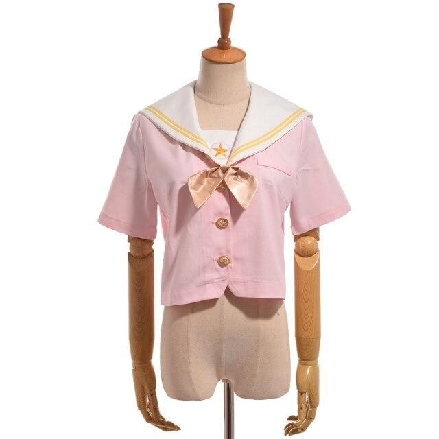 Аниме Рубашка косплей Сакура собирательница карт