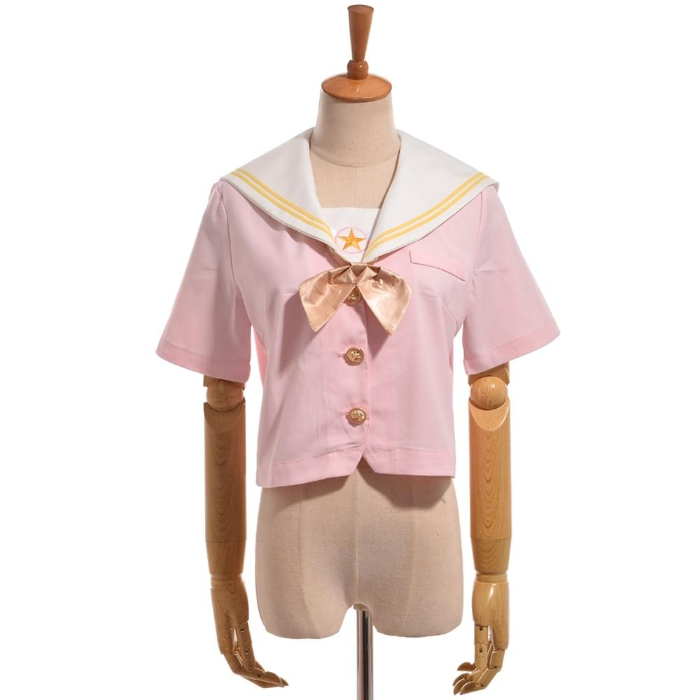ヾ ^ ノgirls sailor collar star ᗖ embroidery
