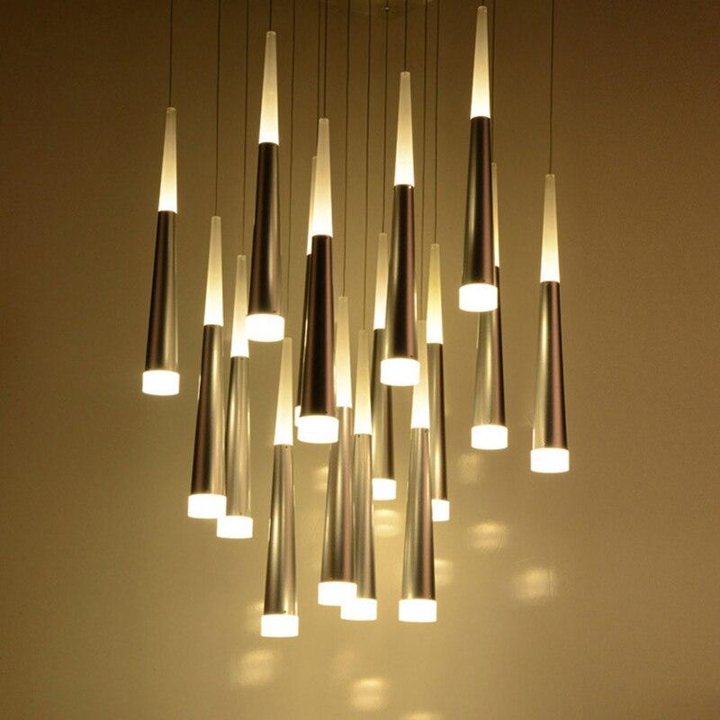 110v 220v led modern ceiling light lamparas de techo avize for Lampen deckenleuchten