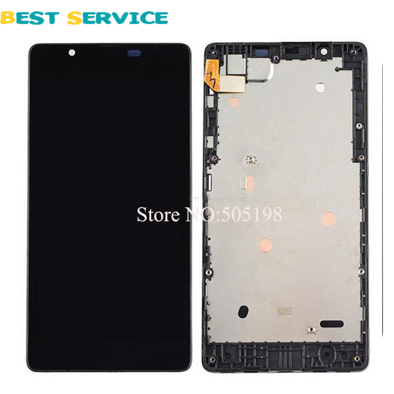 New LCD Screen For Microsoft Nokia Lumia 540 LCD Display with Touch Screen Digitizer Frame Assembly +Tools Free Shipping baby girl dress 2016 brand girls summer dress children clothing lemon print kids dresses for girls clothes robe princesse fille