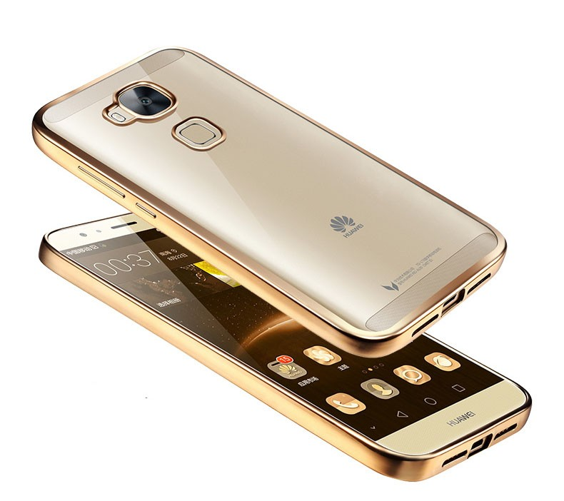 05 For Huawei G8 <font><b>Gx8</b></font> RIO-L02 RIO-L03 RIO-L11 Maimang 4 Plating Gilded TPU <font><b>Phone</b></font> CaseSilicone Soft Clear Crystal Back <font><b>Case</b></font> Cover