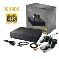 64 бит HD видео игровая консоль 4 к HDMI AV выход Встроенный Ретро 800 классические игры семейный ТВ Видео ретро портативные игровые плееры X PRO