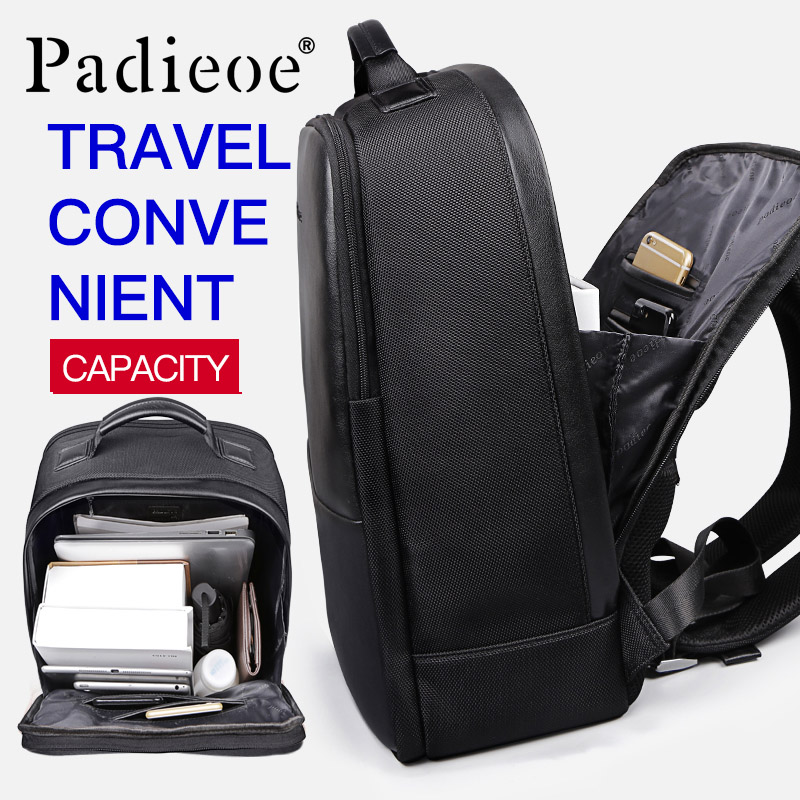 Padieoe Black Anti Lässig Zoll Mode Hohe Tasche diebstahl Qualität Luxus Tablet Mochila Rucksack Reisetasche Schule 14 Männer Laptop rrSTq4xB