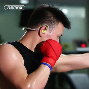 Image 4 - Remax S20 sports In ear Earphone bluetooth Headphone 4.2 Super Bass Stereo Noise Isolating Earbuds Headsets for Mobile Phone/pc