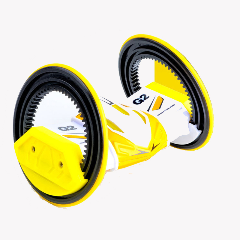 New 2 Rounds Stunt Car 360 Rotate Remote Control Car Driving on Water and Land Amphibious Electric Toys For Children Kids Toys