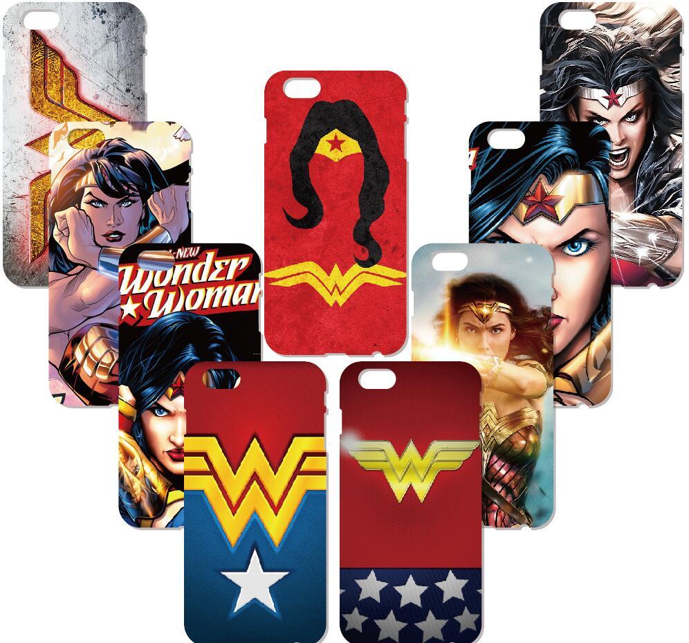 Wonder Woman Logo Case For Samsung Galaxy S9 Plus E5 E7 i9082 S5 S6 S7 Edge Note 3 4 5 Phone Cover Coque Capa Fundas Bumper