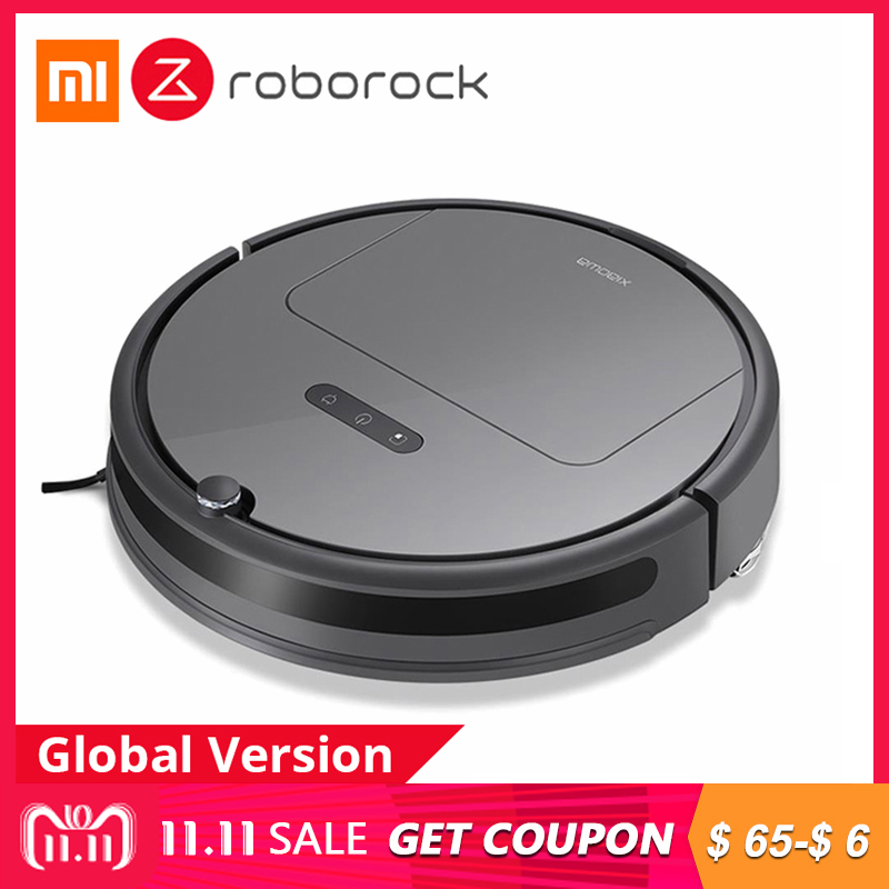[Version internationale] Xiaomi Roborock Xiaowa Plus E35 Robot Aspirateur 2000 Pa Aspiration 5200 mah Batterie Balai Balayage noir