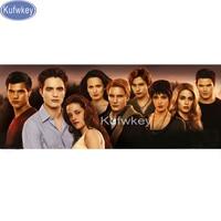 The Twilight Saga Photo 5d Diy Diamond Painting Cross Stitch Robert Pattinson Full Square Diamond Mosaic
