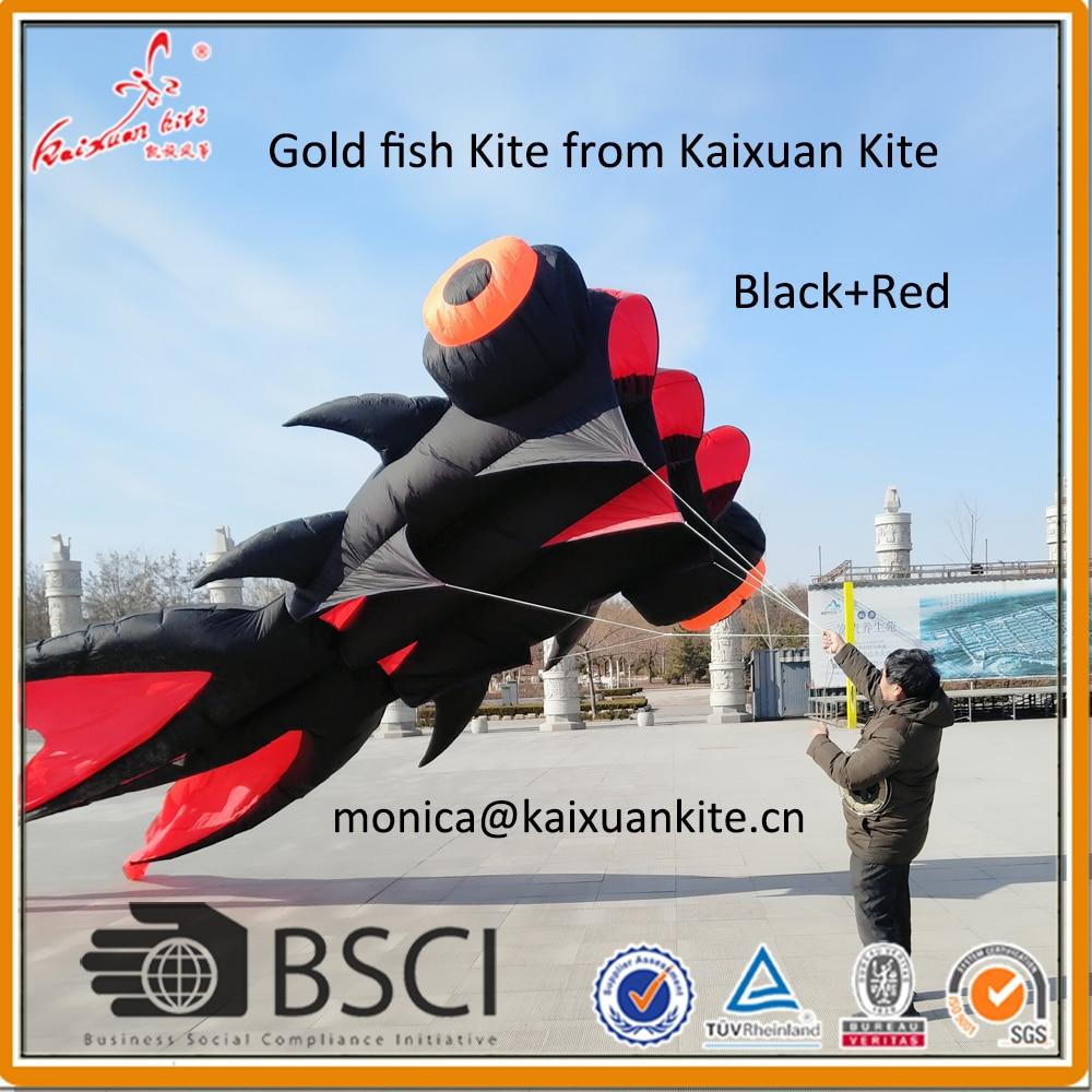 9m Goldfish Kite from Weifang Kaixuan Kite