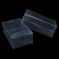 Retail 3 5 8cm Transparent Plastic PVC Small DIY Party Gift Package Box Wedding Favor Clear